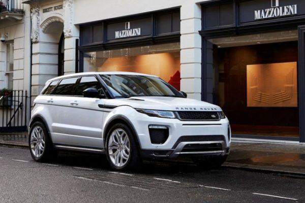 Range Rover Evoque - самый угоняемый автомобиль 2017